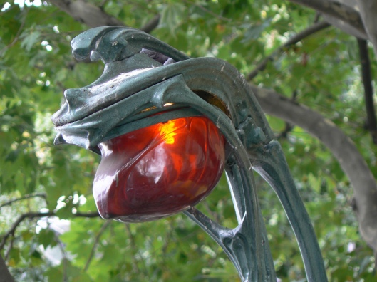 lampada ambrata